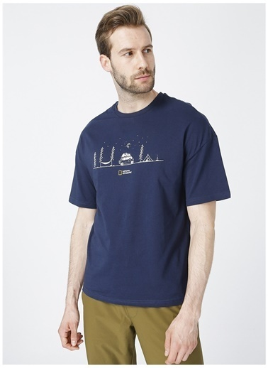National Geographic National Geographic T-Shirt Lacivert